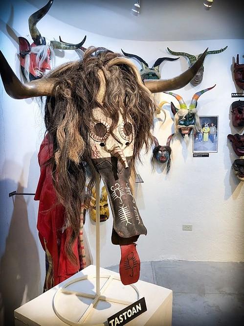 San Miguel de Allende art at the mask museum