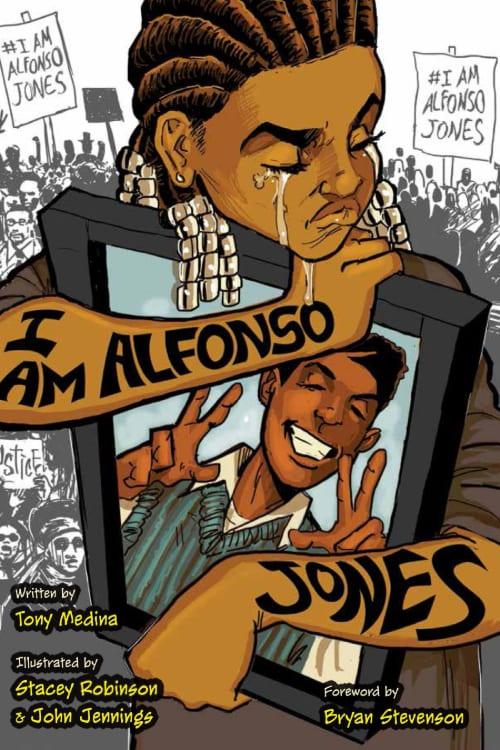 Graphic Novels, Social Justice, Racial Discrimination, Police Brutality, George Floyd, Black Lives Matter, I am Alfonso Jones, YA Graphic Novels, Police Brutality Victims, Eric Garner, Oscar Grant, Civil Rights