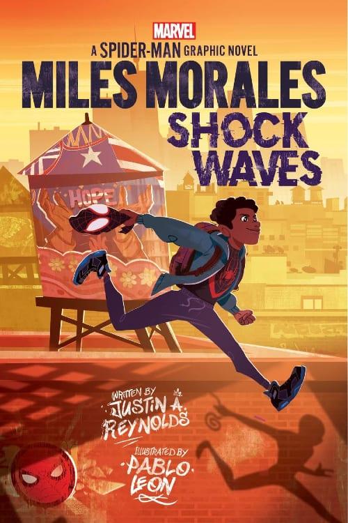 Marvel, Marvel Comics, Scholastic, Miles Morales, Spider-Man, Shock Waves, Peter Parker, Puerto Rico, Shuri, Kamala Khan, Black Panther, Ms. Marvel, Graphic Novels, Young Adult, Middle Grade
