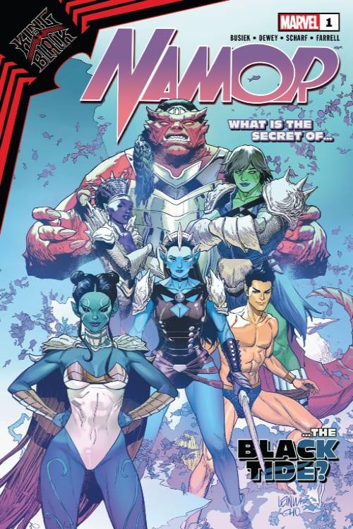 Venom, Namor, Eddie Brock, Swift Tide, Black Tide, Marvel Comics, Donny Cates, Kurt Busiek, Symbiot Spider-Man, Venom