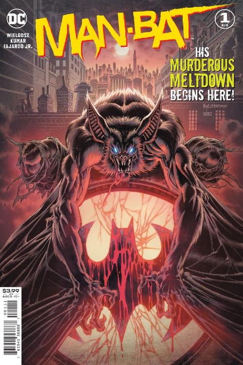 New Man-Bat Limited Series, DC Comics, Batman, Suicide Squad, Kirk Langstrom, Sumit Kamari, Sumit Kamari, Dave Weilgosz