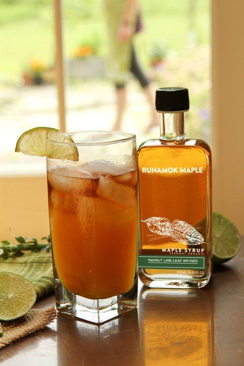 Maple syrup mai tai by Runamok Maple