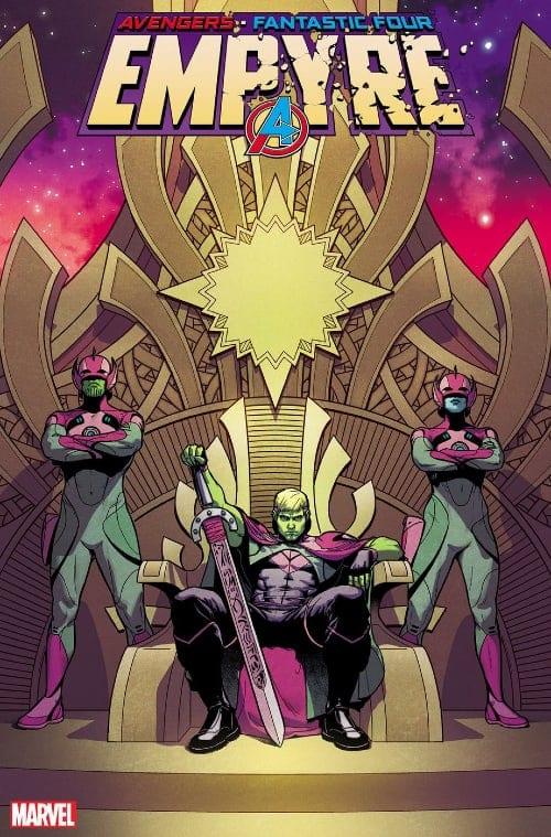Skrulls, Kree, Kree-Skrull War, Iron Man, Mr. Fantastic, Empyre, Launch Party