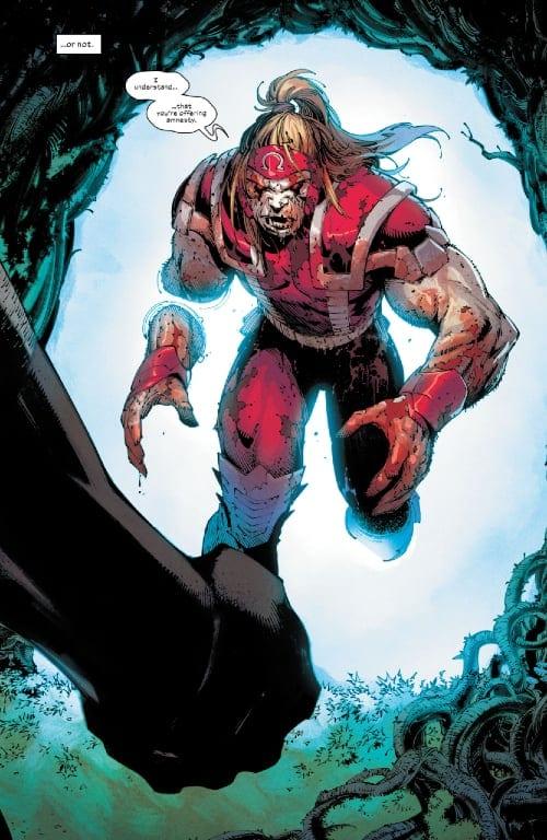 Omega Red, Dracula, Vampires, Mutants, Krakoa, X-Men, Magneto