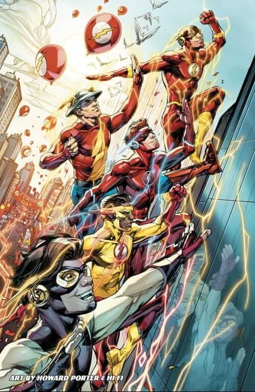 Howard Porter, Hi-Fi, Flash Family, DC Comics,