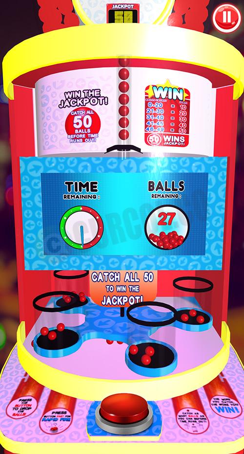 Penampakan game Fast Drop