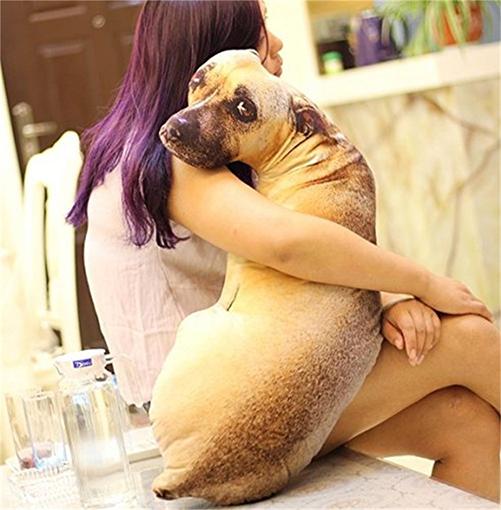 perro grande observando