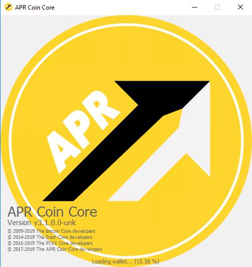 APR Coin Masternode Setup Windows VPS