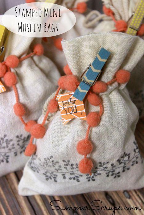 Stamped-Mini-Muslin-Treat-Bags