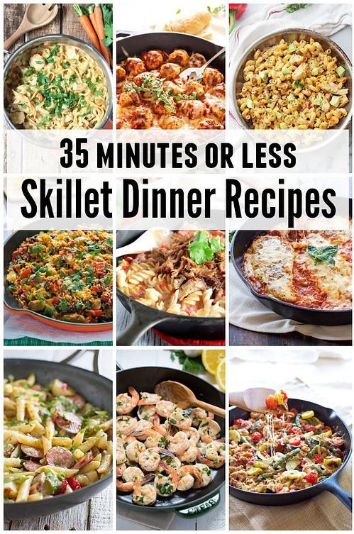 35-minutes-or-less-skillet-dinner-recipes
