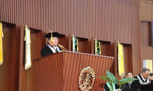 Menteri PPN Beri OrasiI lmiah di Wisuda UI, Bahas Pembangunan Berkelanjutan