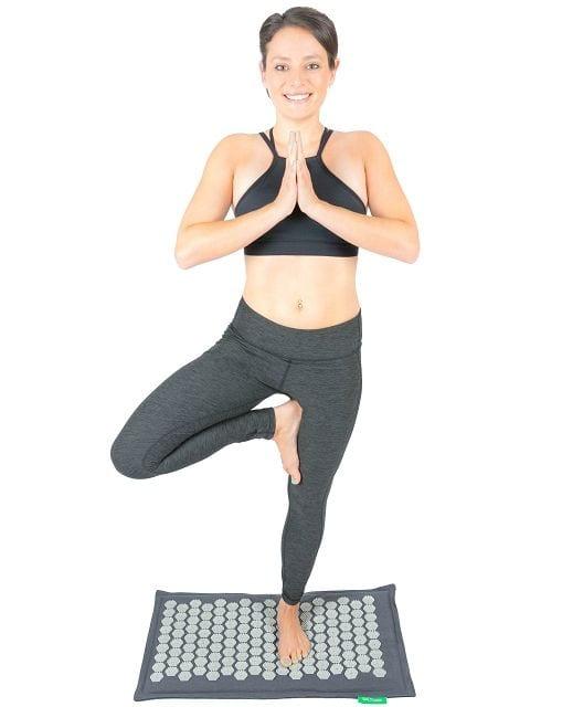 Die Simulation der Reflexzonen an den Fußsohlen durch die BACKLAxx-Matte wirkt sich positiv auf viele Körperregionen aus.