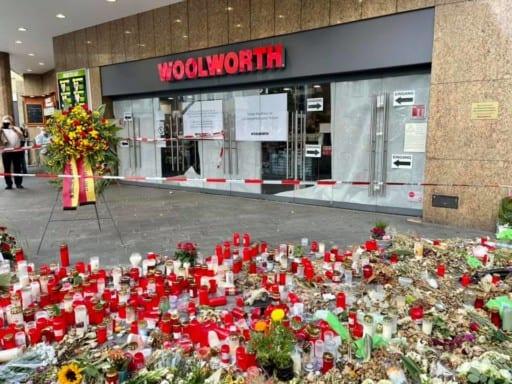 Der Terrorangriff von Würzburg vom 25.6.2021 - Foto privat