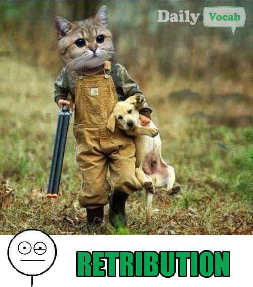 Retribution Vocabulary Word