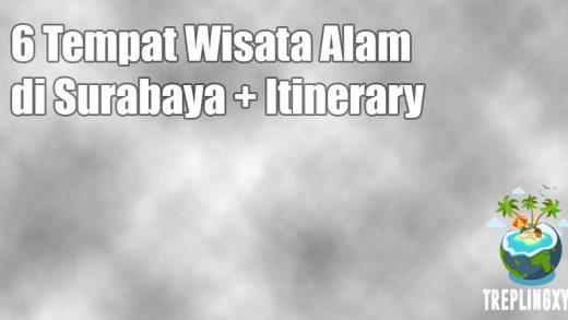 6 Tempat Wisata Alam di Surabaya