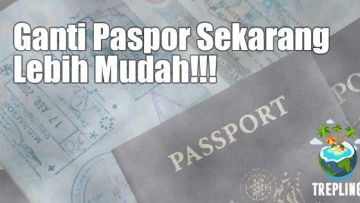 Kabar Gembira! Ganti Paspor Sekarang Hanya Modal KTP (Dan Buku Paspor Lama)