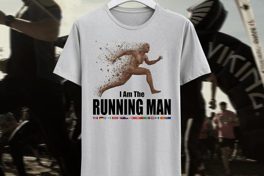 Running man. I am the Running Man.