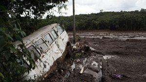 Прорыв плотины в Бразилии