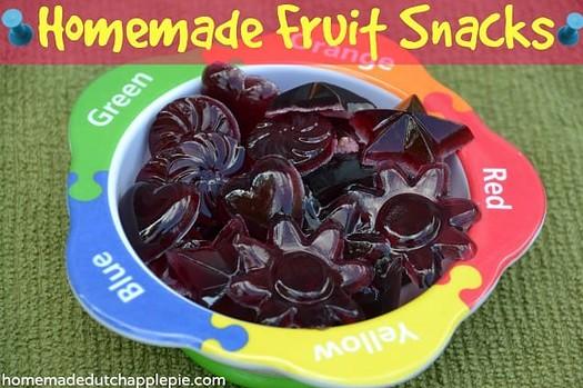 Homemade Fruit Snacks | Just Take a Bite