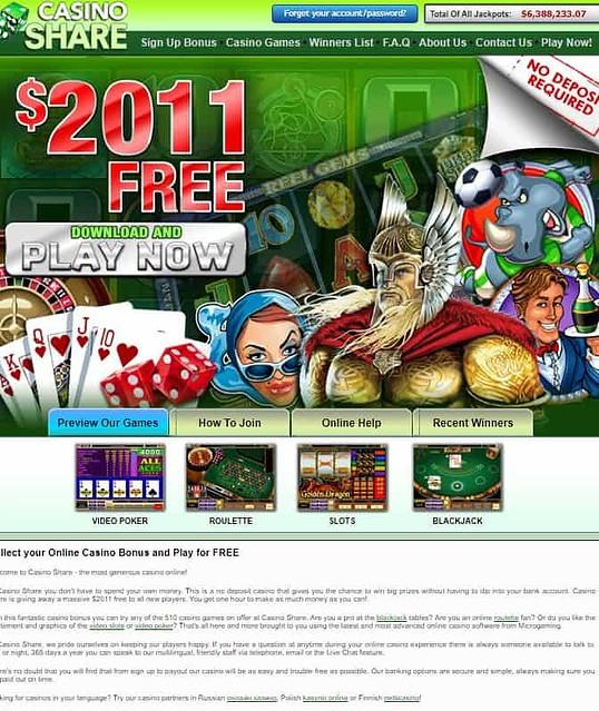 Casino Share Review