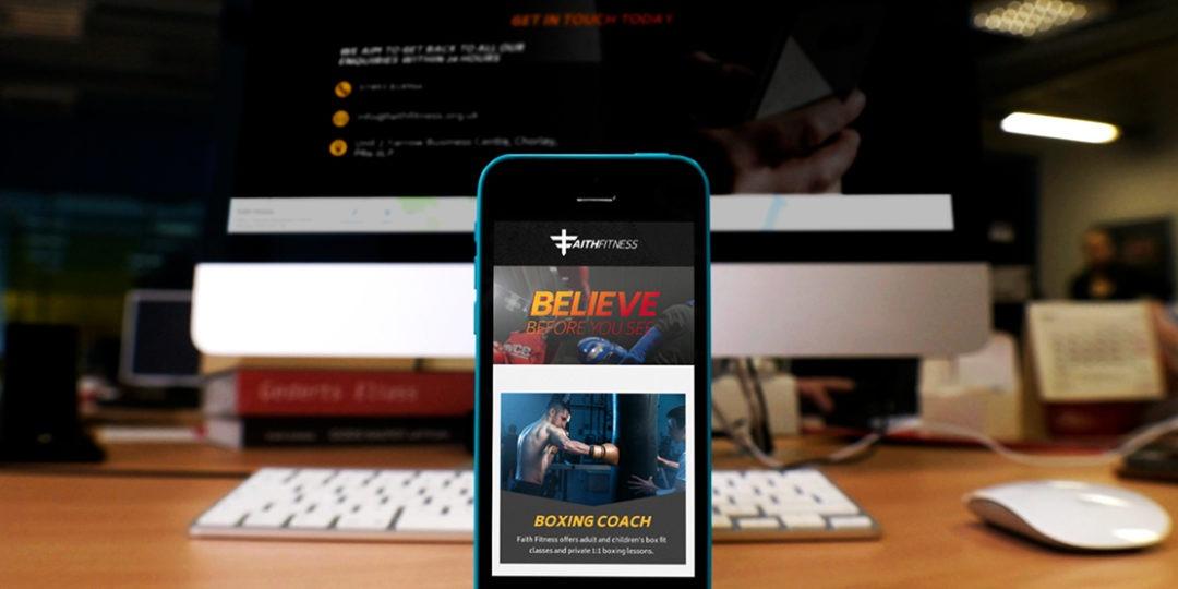 Fitness Website Build