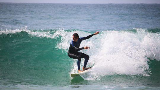 advanced surf lesson at algarve