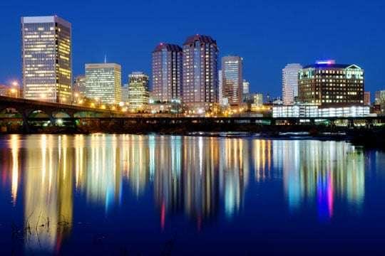 Richmond una vista del sur estadounidense
