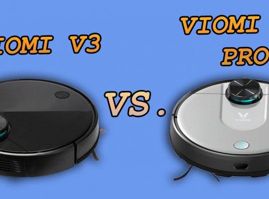 Viomi V3 vs Viomi V2 PRO