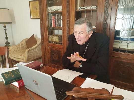patriarca francesco moraglia computer