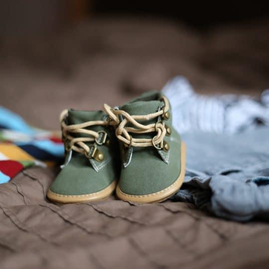 Storlekar på barnkläder och barnskor