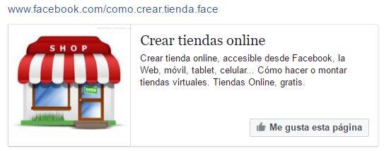 comercio electronico en facebook