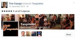 Anmeldelse Tangoteket Tina