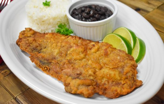 Bistec Empanizado (Breaded Steak)