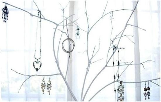 Jewelry Organization Ideas - Jewelry Tree