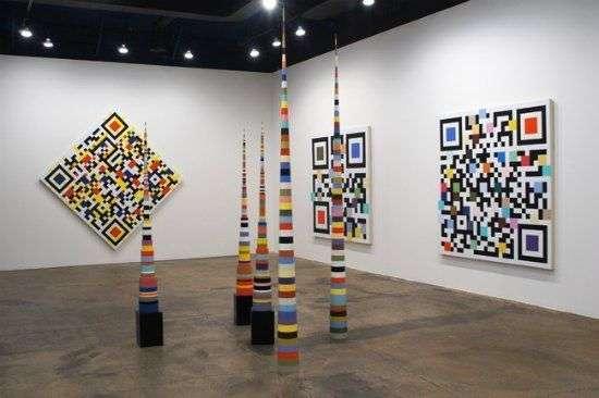 QR code in het museum  creatieve QR-codes