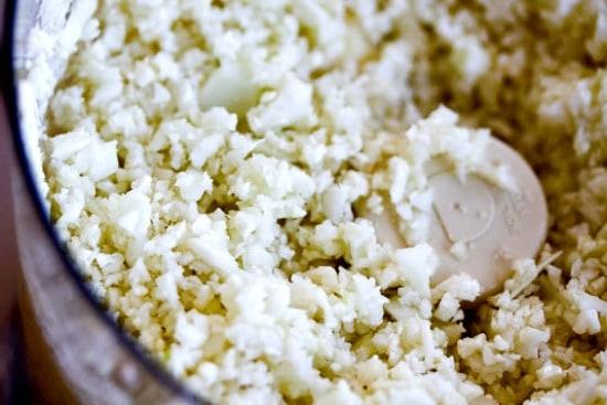 Cauliflower Fried Rice Recipe Step One