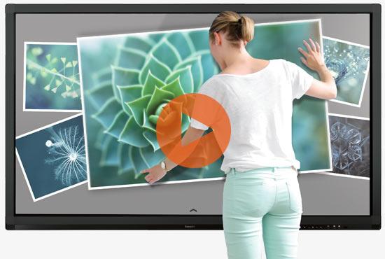 utiliser un écran interactif tactile Speechitouch