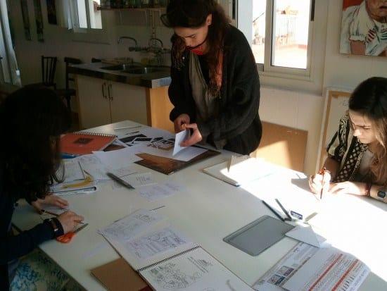 Original and sketch preparation