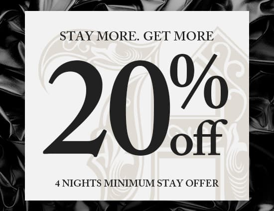 Get 20% Off your Stay - Hugo's Hotels