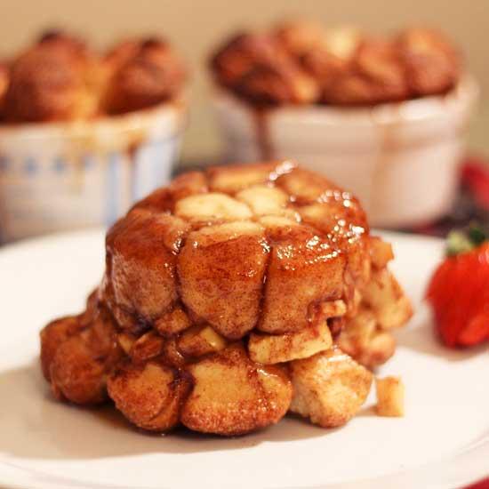 apple fritter monkey bread