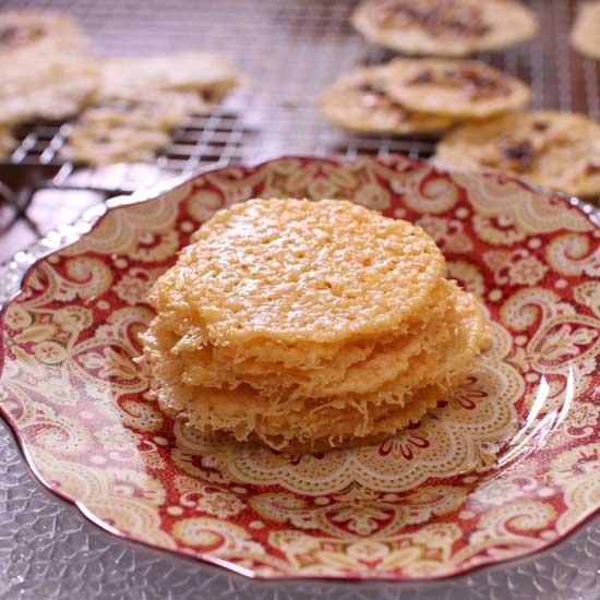 Parmesan Cheese Crisps | One Dish Kitchen