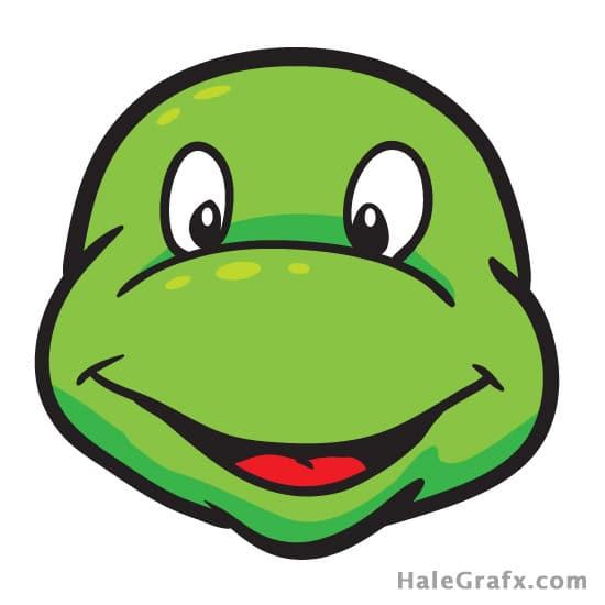 Pin the Mask on the Ninja Turtle Party Game Printable