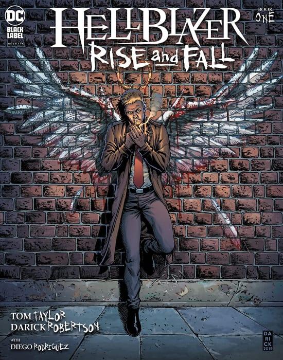 John Constantine, Hellblazer, Hellblazer Rise and Fall, Tom Taylor, DC Comics, Black Label, DCeased