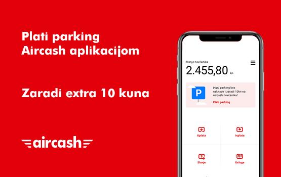 Plati parking i zaradi 10 kuna