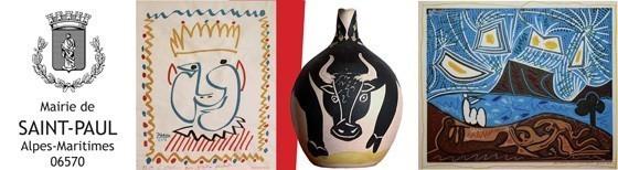 """Exposition """"Picasso, l'empreinte"""" à Saint Paul de Vence"""