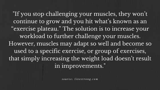exercise plateau