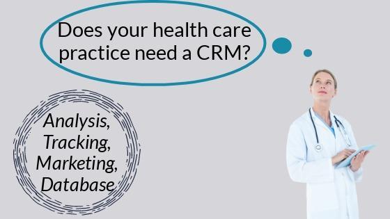 healthcare practice crm