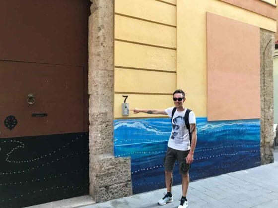 Cose da vedere a Valencia in 3 giorni: murales nel centro storico