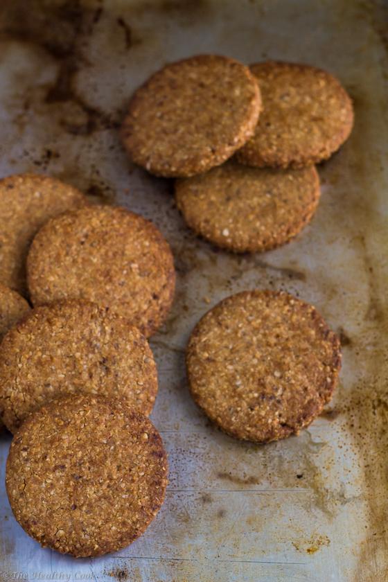 Homemade Digestive Cookies – Σπιτικά Μπισκότα Digestive