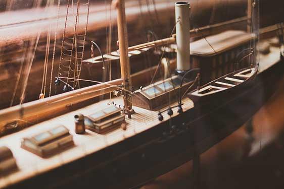 Wooden model ship kits for beginners